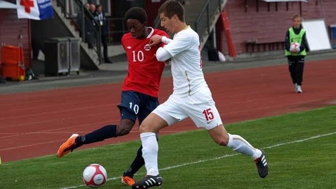 Norway hold off FYROM to gain first win