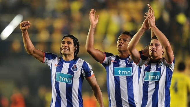 Falcao, Fredy Guarín & James Rodríguez (FC Porto)