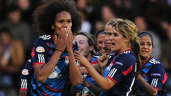 Lyon find redemption after toppling Potsdam