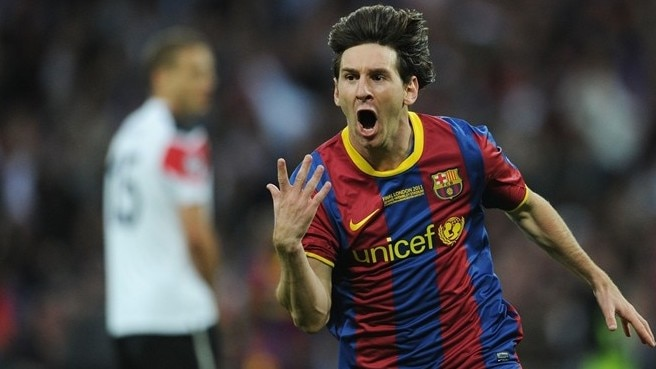 Top scorer Messi matches Van Nistelrooy mark