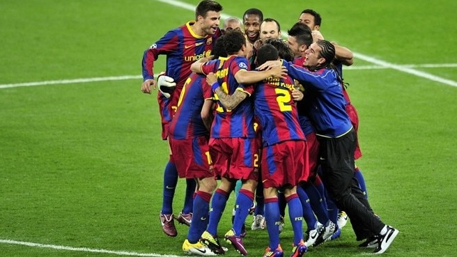 Barcelona go fourth with Wembley triumph