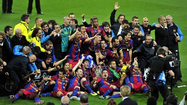 Barcelona and Porto lead 2011 roll of honour