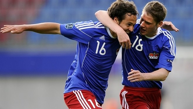 Liechtenstein stun Lithuania for rare victory