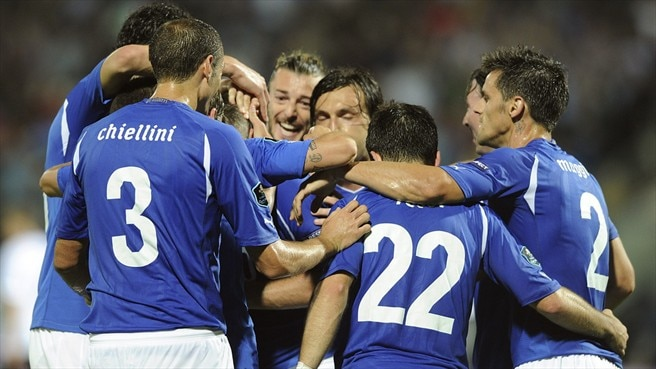 Entertaining Italy too strong for Estonia