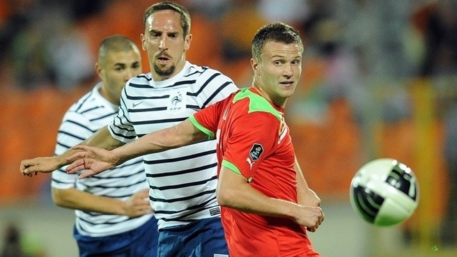 Belarus breach miserly France to draw in Minsk