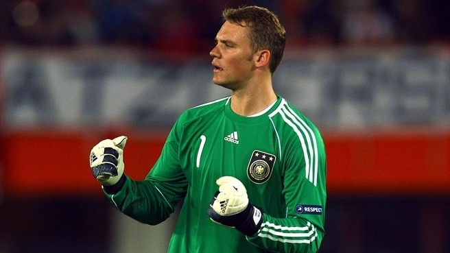 Neuer recognised as Germany's best player
