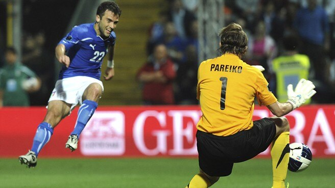 Rossi relishing Italy partnership with Cassano