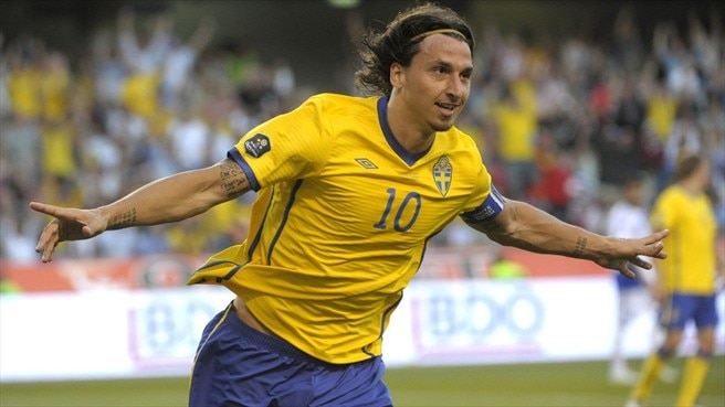 Ibrahimović provides Sweden inspritation