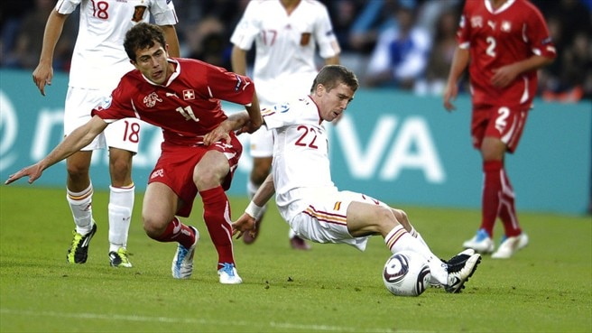 Iker Muniain (Spain) & Admir Mehmedi  (Switzerland)