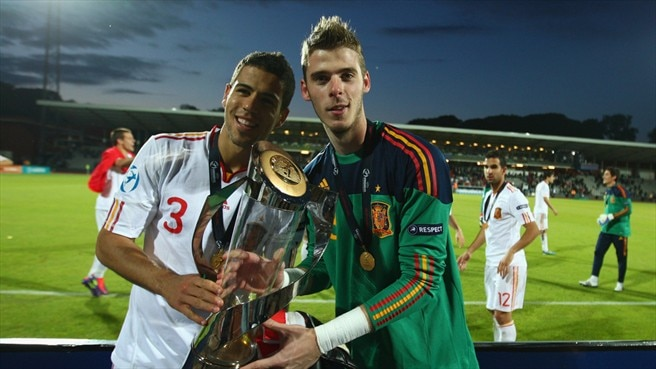 David de Gea & Álvaro Domínguez (Spain)