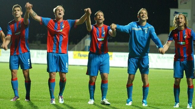 Five star Plzeň book their place at Pyunik's expense