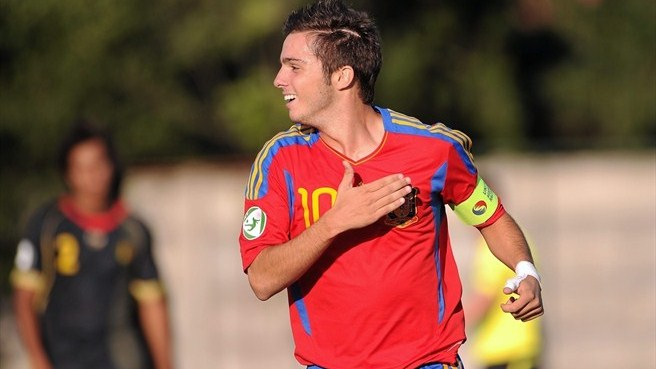 Spain U19 skipper Sarabia recalls 'living the dream'