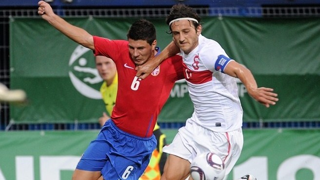 Five-goal Serbia make no mistake