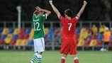 Kane McGovern (Republic of Ireland) & Martin Kraus (Czech Republic)
