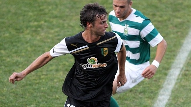 Gonzalo living large with AEK Larnaca