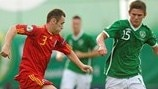 Sean Murray (Republic of Ireland) & Lucian Murgoci (Romania)