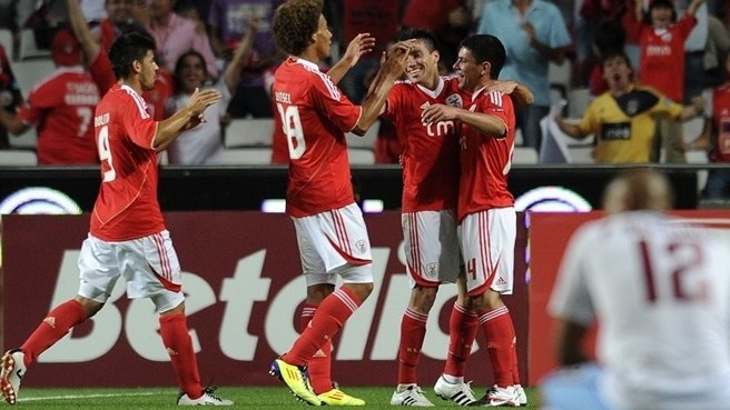 Benfica leave Trabzonspor up against it