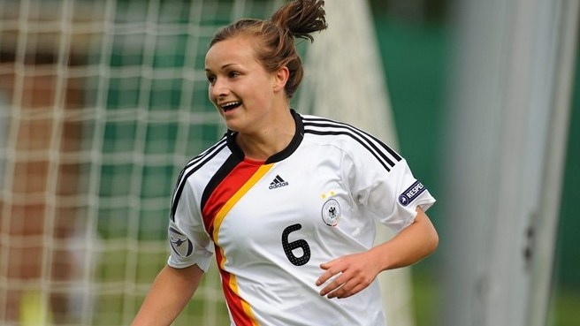 Germany pair share scoring honours