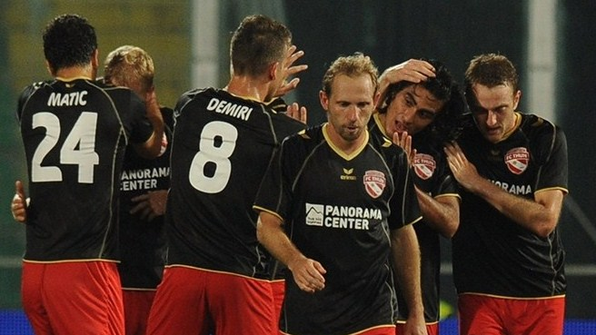 Thun rising in Europe after Palermo draw