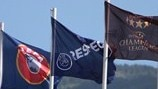 UEFA Women's Champions Leage flags