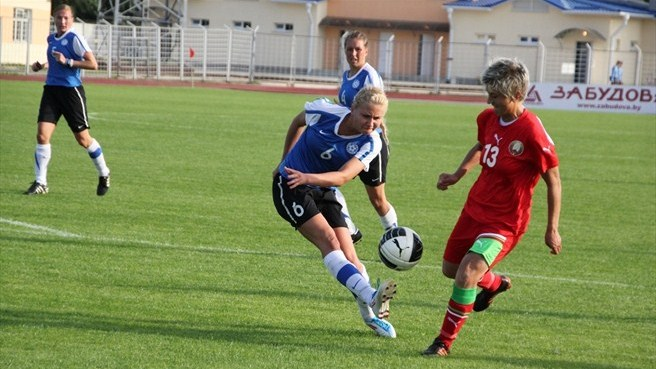 Belarus off to winning start at Estonia's expense