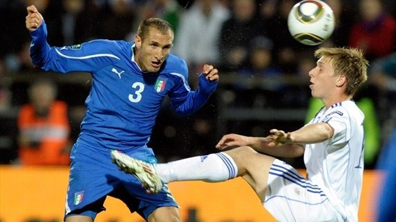 Chiellini: Confidence key for improving Italy