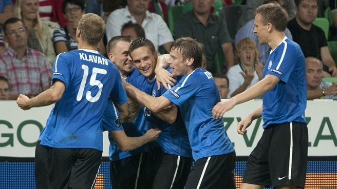 Estonia success leaves Slovenia reeling