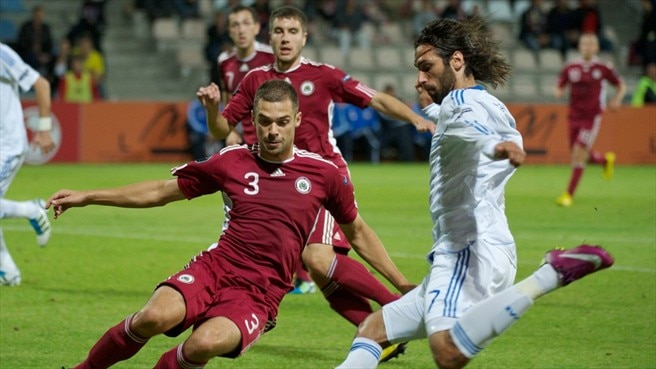 Greece cede Group F initiative with Latvia draw