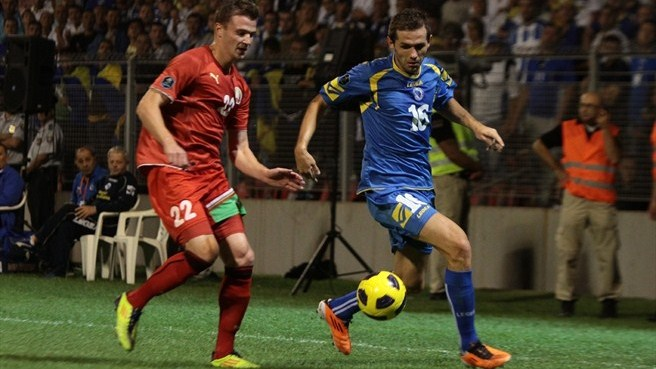 Bosnia and Herzegovina oust nine-man Belarus