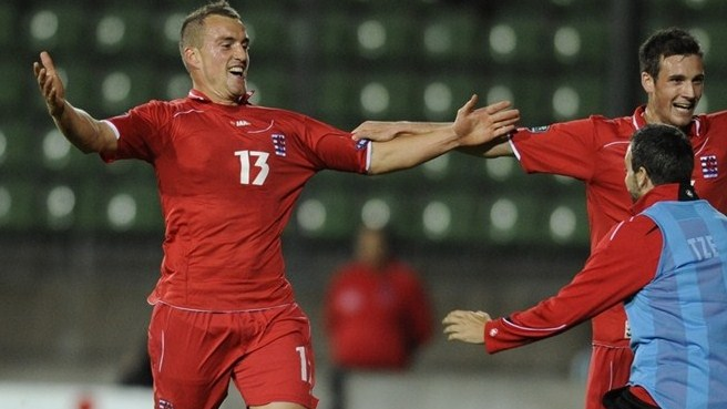 Luxembourg beat Albania for first win