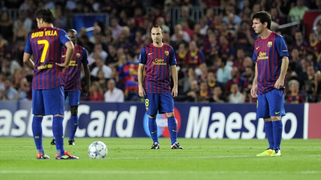 Iniesta injury adds to Barcelona concerns
