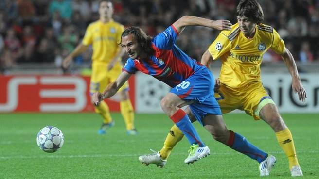 Point apiece pleases Plzeň and BATE