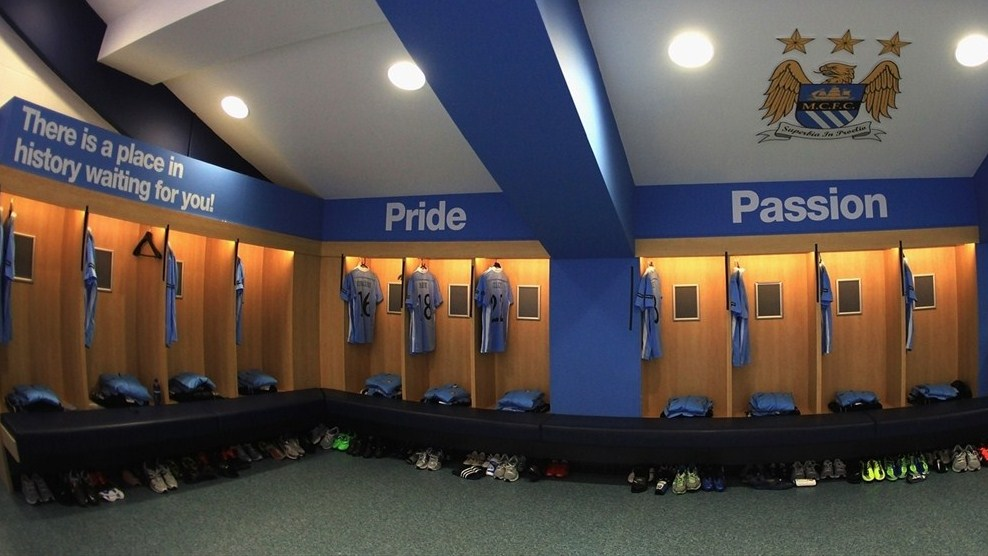 Changing Room : Manchester City FC