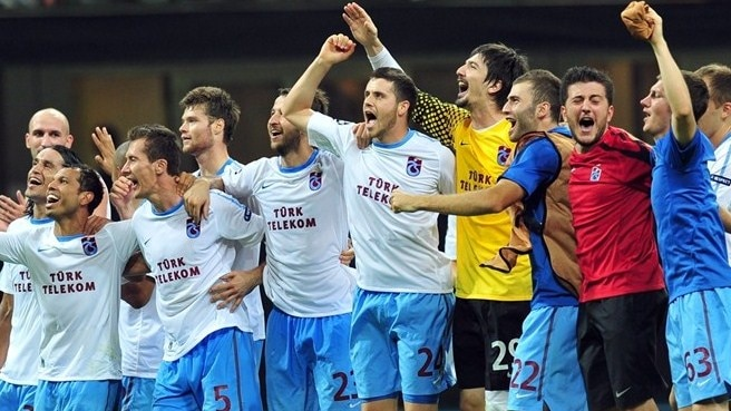 Trabzonspor's Čelůstka living the dream