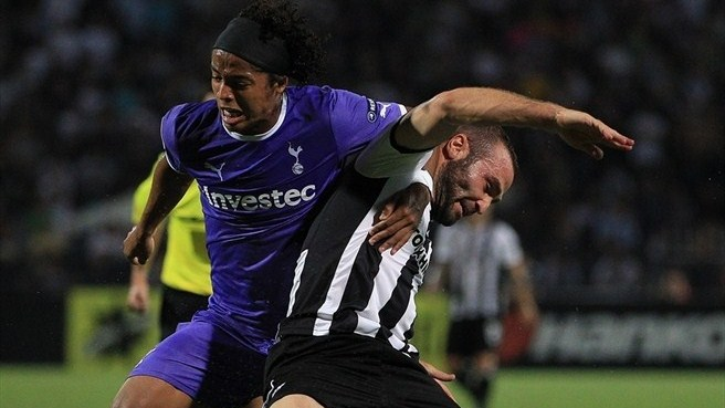 Tottenham prise point at PAOK