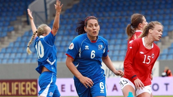 Norway fall to Iceland in fortress Reykjavik