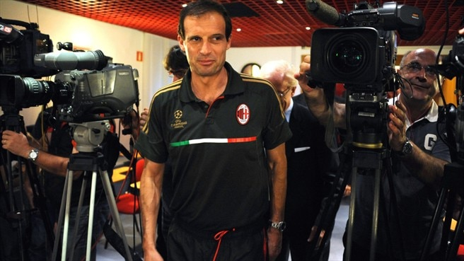 Milan's Allegri guarding against Plzeň complacency