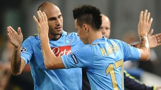 Napoli's high-flying Hamšík staying grounded