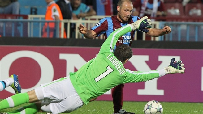 Colman saves Trabzonspor from Lille loss