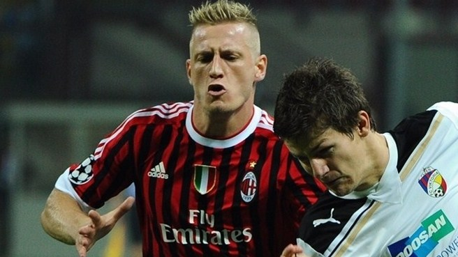 Abate laid off for two weeks at Milan