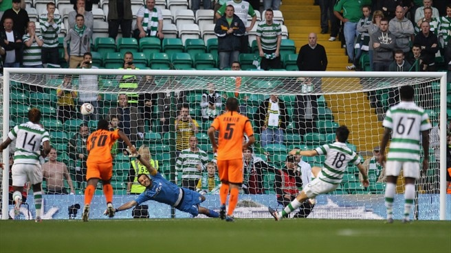 Late Udinese penalty stifles Celtic bid