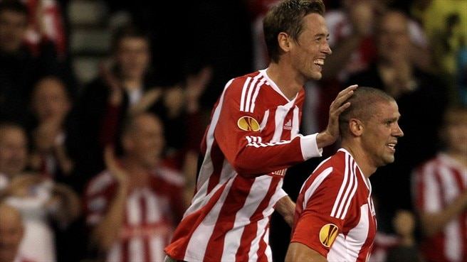 Stoke scorers spurred on by '12th man'