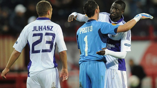 Proto hails Anderlecht's successful Moscow mission