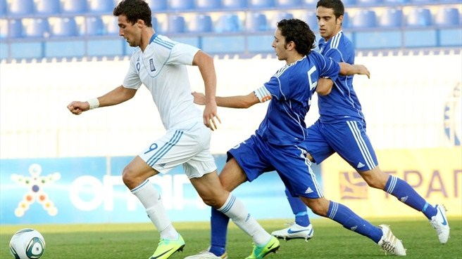 Teenage kicks push Greece past San Marino
