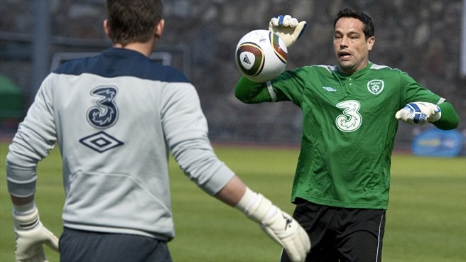 David Forde & Keiren Westwood (Republic of Ireland)