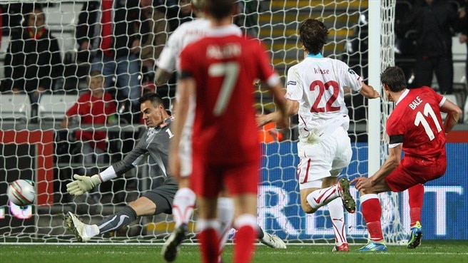 Ten-man Switzerland out after Wales defeat