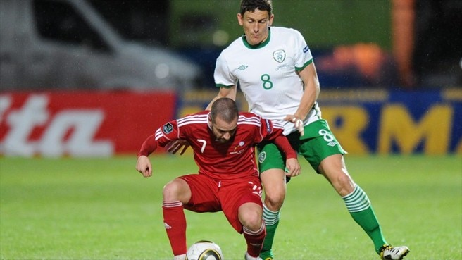Marc Pujol (Andorra) & Keith Andrews (Republic of Ireland)