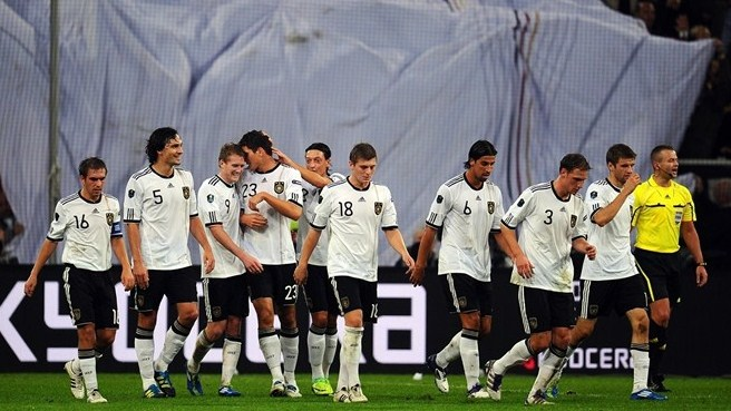 Germany send message that they are out for glory