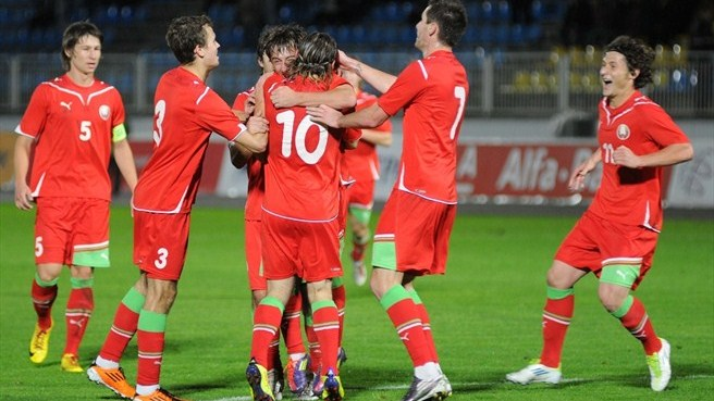 Belarus prevail in San Marino