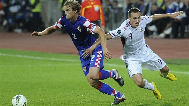 Croatia bound for play-offs despite beating Latvia
